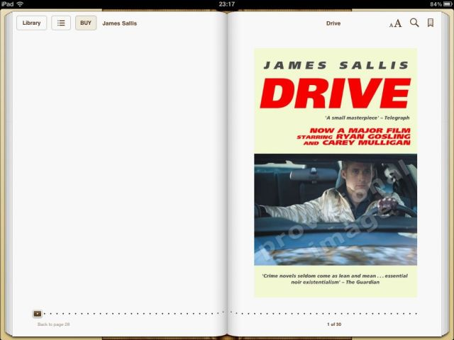 Drive 6.00 sample cover