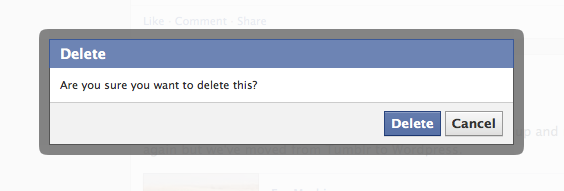 Facebook Are You Sure Snap